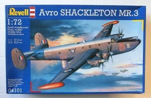 REVELL 1/72 04101 AVRO SHACKLETON MR.3