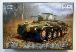 IBG MODELS 1/72 72028 TOLDI II HUNGARIAN LIGHT TANK