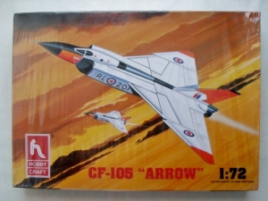 HOBBYCRAFT 1/72 1392 AVRO CF-105 ARROW