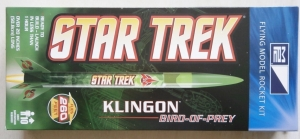 MPC  STAR TREK KLINGON BIRD OF PREY ROCKET KIT