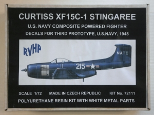 RVHP 1/72 72111 CURTISS XF15C-1 STINGAREE