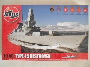 AIRFIX 1/350 12203 TYPE 45 DESTROYER
