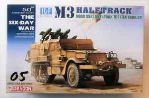 DRAGON 1/35 3579 IDF M3 HALFTRACK NORD SS-II ANTI TANK MISSILE CARRIER