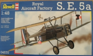 REVELL 1/48 04570 ROYAL AIRCRAFT FACTORY S.E.5a