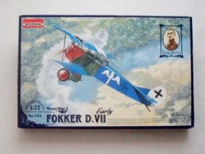 RODEN 1/72 025 FOKKER D.VII EARLY