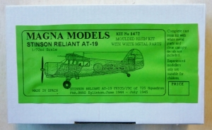 MAGNA 1/72 1472 STINSON RELIANT AT19