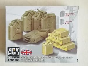 AFV CLUB 1/35 35258 WWII BRITISH FUEL TANK SET