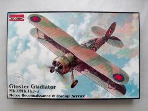 RODEN 1/48 438 GLOSTER GLADIATOR Mk.I/Mk.II/J-8