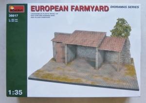 MINIART 1/35 36017 EUROPEAN FARMYARD