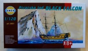 SMER  0901 PIRATE SHIP BLACK FALCON 1/120