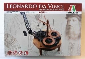 ITALERI  3111 LEONARDO DA VINCI FLYING PENDULUM CLOCK