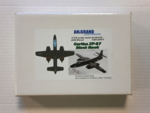 ANIGRAND 1/72 2047 CURTISS XF-87 BLACK HAWK