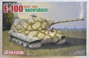 DRAGON 1/35 6011X E-100 HEAVY TANK NACHTJAGER