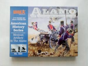 IMEX 1/72 520 MEXICAN ARTILLERY ALAMO