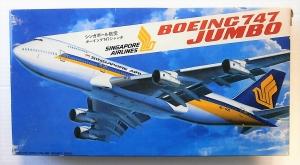 HASEGAWA 1/200 LD5 BOEING 747 JUMBO SINGAPORE AIRLINES