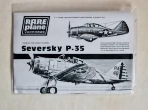 RAREPLANE 1/72 SEVERSKY P-35