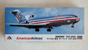 HASEGAWA 1/200 10646 BOEING 727-200 AMERICAN AIRLINES