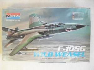 MONOGRAM 1/48 5806 F-105G WILD WEASEL