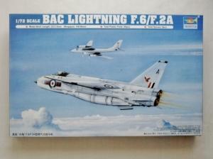TRUMPETER 1/72 01654 BAC LIGHTNING F.6/F.2A
