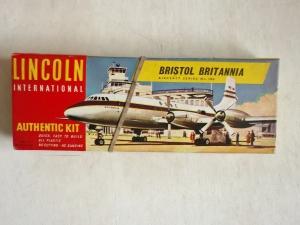 LINCOLN  106 BRISTOL BRITANNIA BOAC