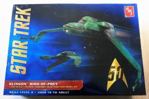 AMT 1/350 949 STAR TREK KLINGON BIRD OF PREY
