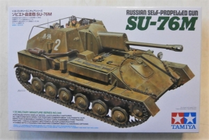 TAMIYA 1/35 35348 RUSSIAN SELF PROPELLED GUN SU-76M