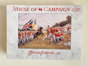 CALL TO ARMS 1/72 65 BRITISH INFANTRY 1775
