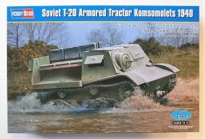 HOBBYBOSS 1/35 83848 SOVIET T-20 ARMOURED TRACTOR KOMSOMOLETS 1940