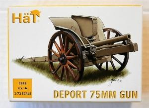 HAT INDUSTRIES 1/72 8242 DEPORT 75mm GUN