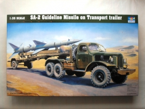 TRUMPETER 1/35 00204 SA-2 GUIDELINE ON TRANSPORT TRAILER