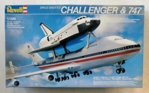 REVELL  4527 CHALLENGER   747 1/288
