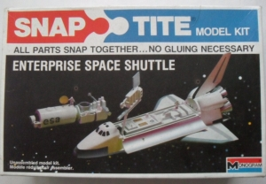MONOGRAM  1014 ENTERPRISE SPACE SHUTTLE