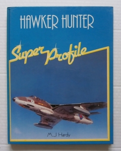 CHEAP BOOKS  ZB009 HAWKER HUNTER SUPER PROFILE