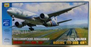 ZVEZDA 1/144 7012 BOEING 777-300 ER  UK SALE ONLY