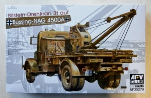 AFV CLUB 1/35 35279 BILSTEIN-DREHKRAN 3t AUF BUSSING-NAG 4500A