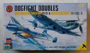 AIRFIX 1/72 03141 SUPERMARINE SPITFIRE Mk.IX   MESSERSCHMITT Bf 110 C/D LATER BOXING
