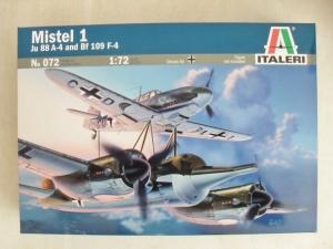 ITALERI 1/72 072 MISTEL 1 Ju 88 A-4 WITH Bf 109 F-4