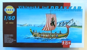 SMER  0902 VIKING SHIP DRAKKAR 1/60