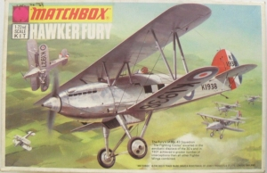MATCHBOX 1/72 PK-01 HAWKER FURY