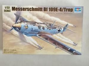 TRUMPETER 1/32 02290 MESSERSCHMITT Bf 109E-4/TROP