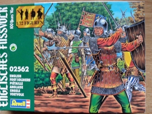REVELL 1/72 02562 ENGLISH FOOT SOLDIERS
