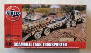AIRFIX 1/76 02301 SCAMMELL TANK TRANSPORTER