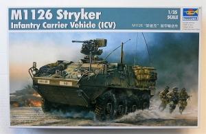 TRUMPETER 1/35 00375 M1126 STRYKER  ICV