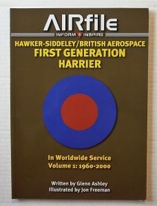 AIRFILE  07. HAWKER SIDDELEY/BAE FIRST GENERATION HARRIER IN WORLDWIDE SERVICE 1960-2000