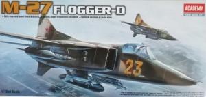 ACADEMY 1/72 12455 MiG-27 FLOGGER D