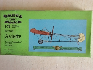 OMEGA 1/72 72049 FARMAN 1913 AVIETTE