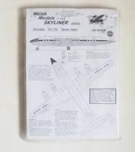 WELSH MODELS 1/144 SL51 DOUGLAS DC-7C SEVEN SEAS