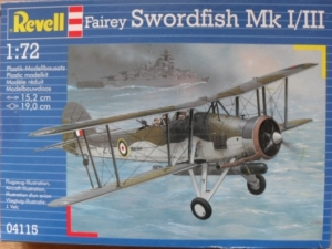 REVELL 1/72 04115 FAIREY SWORDFISH Mk.I/III