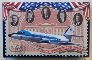 RODEN 1/144 324 LOCKHEED VC-140B JETSTAR
