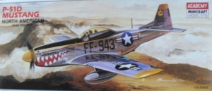 ACADEMY 1/72 1662 P-51D MUSTANG NORTH AMERICAN